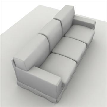 america_sofa_three_pillow 3d modell max 80199