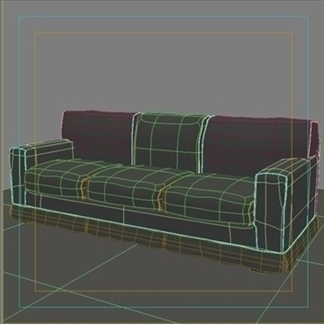 america_sofa_three_pillow 3d model max 80202