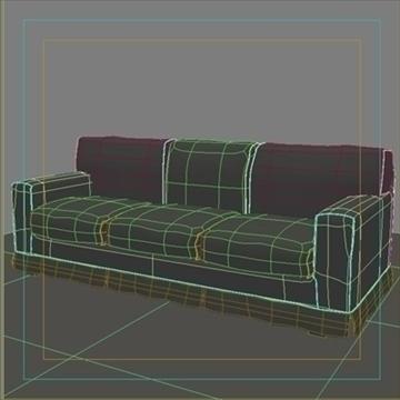 america_sofa_three_pillow 3d modell max 80202