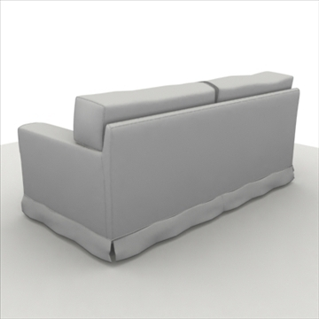 america_sofa_two_pillow 3d model max 80191