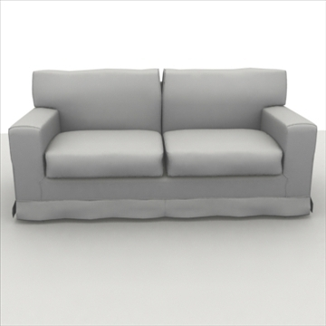 america_sofa_two_pillow 3d model max 80192