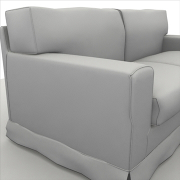 america_sofa_two_pillow 3d model max 80193
