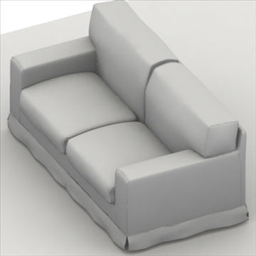 america_sofa_two_pillow 3d model max 80194