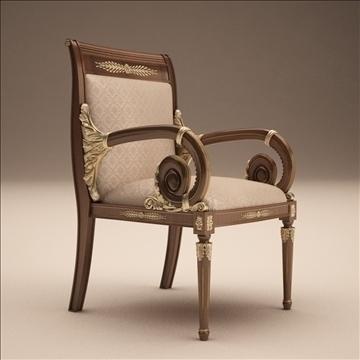 angelo cappellini _ platrona krēsls 3d modelis max 108142