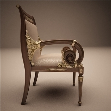 angelo cappellini _ platrona stolica 3d model max 108143