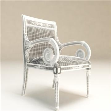 angelo cappellini _ platrona armchair 3d model max 108146