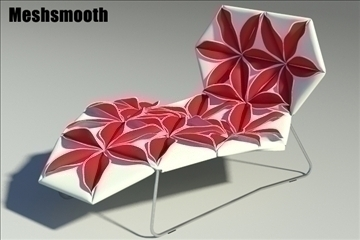 antibodi desck chair flower 3d model max fbx obj other 91763