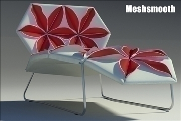 antibodi desck chair flower 3d model max fbx obj other 91765