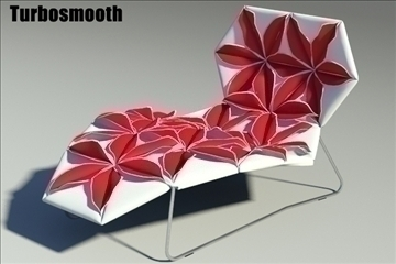 antibodi desck chair flower 3d model max fbx obj other 91767