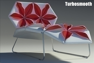 antibodi desck chair flower 3d model max fbx obj other 91769