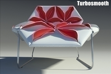 antibodi desck chair flower 3d model max fbx obj other 91771