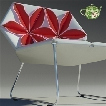antibodi flower chair 3d model max dwg fbx obj 91735