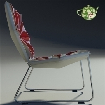 antibodi flower chair 3d model max dwg fbx obj 91737