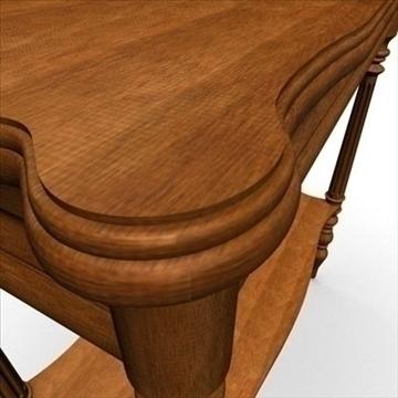antique-table 3d model 3ds dxf fbx c4d obj 85425