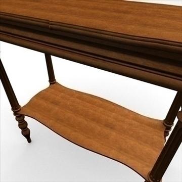 antique-table 3d model 3ds dxf fbx c4d obj 85426
