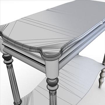 antique-table 3d model 3ds dxf fbx c4d obj 85428