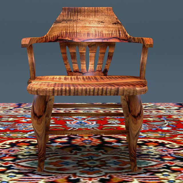 Antique Elm Wood Chair ( 451.88KB jpg by marbelar )