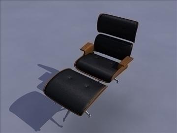 armchair 3 3d model ma mb obj 82945