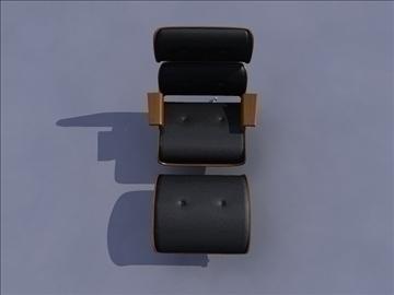 armchair 3 3d model ma mb obj 82946