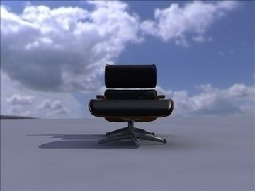 armchair 3 3d model ma mb obj 82947