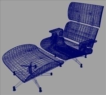armchair 3 3d model ma mb obj 82948