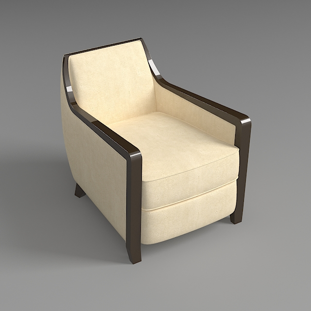 armchair 5 3d model 3ds max dxf fbx jpeg jpg obj 114945