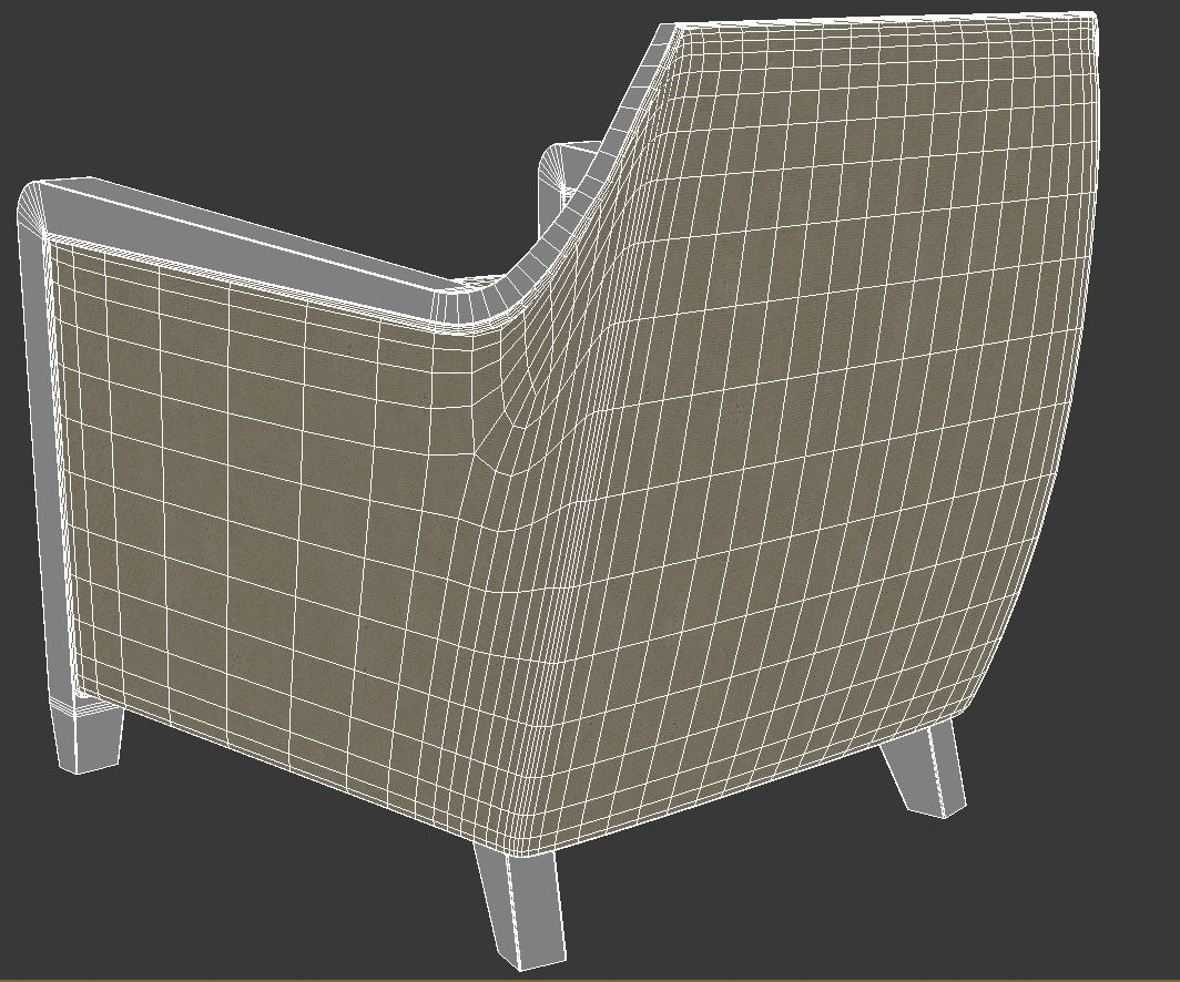 armchair 5 3d model 3ds max dxf fbx jpeg jpg obj 114947