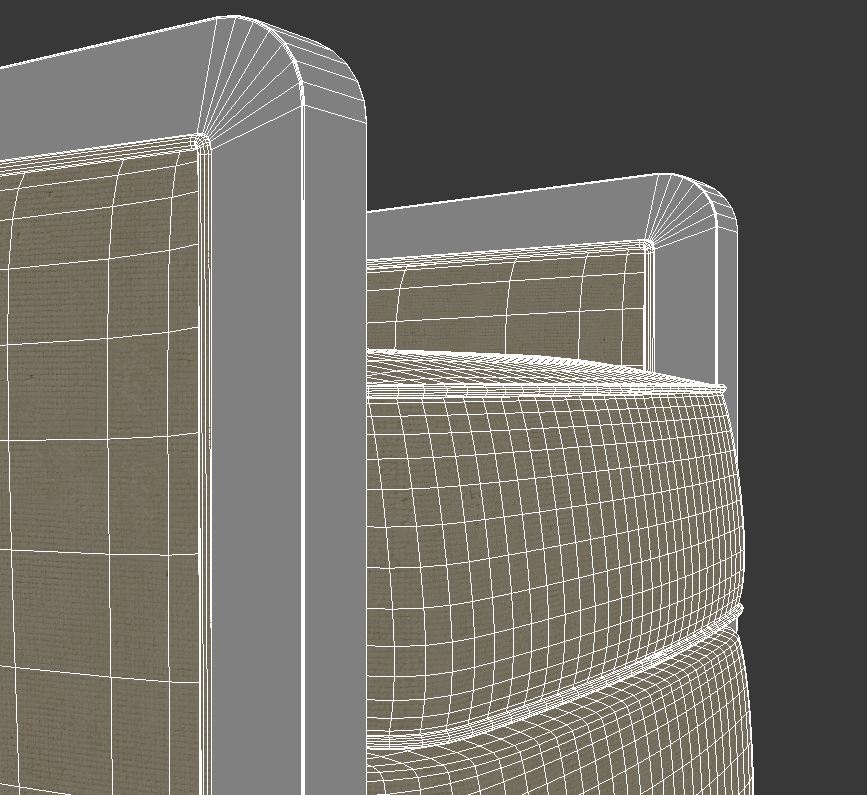 armchair 5 3d model 3ds max dxf fbx jpeg jpg obj 114949