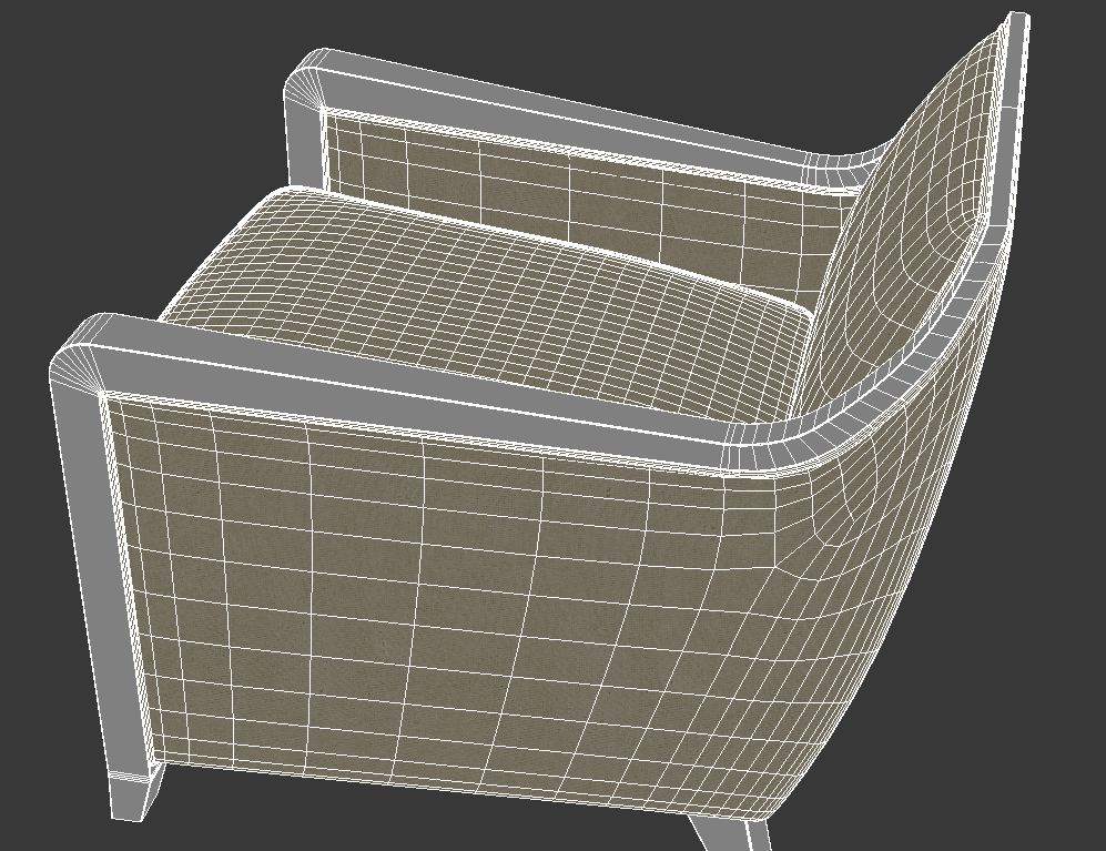 armchair 5 3d model 3ds max dxf fbx jpeg jpg obj 114950