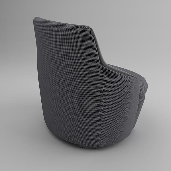 krēsls un dīvāns 3d modelis max fbx faktūra obj 120987