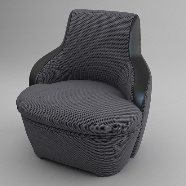 krēsls un dīvāns 3d modelis max fbx faktūra obj 120988