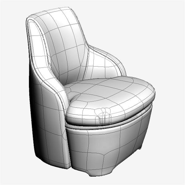 krēsls un dīvāns 3d modelis max fbx faktūra obj 120989