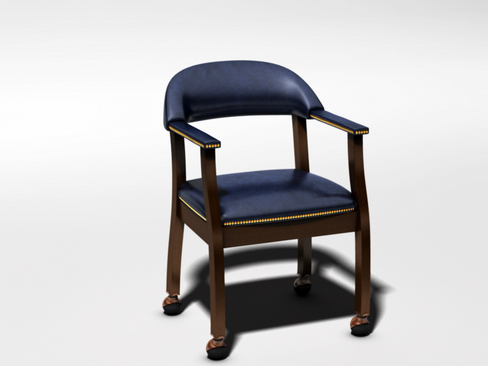 casino chair 3d model 3ds max c4d lwo ma mb obj 114293