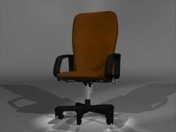 stolica 3d model 3ds dxf lwo 81092