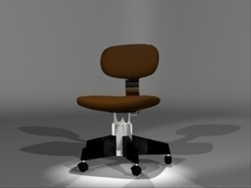 chair2 3d model 3ds dxf lwo 81093