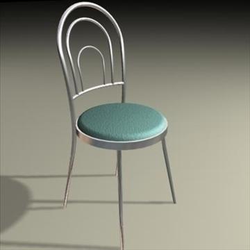 chrome seat 3d model max 84959