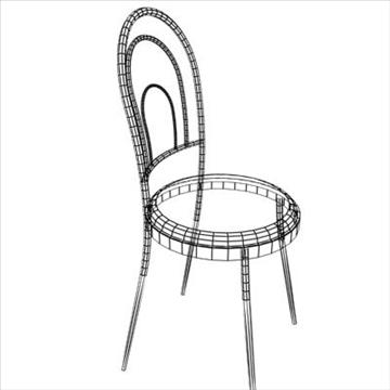 chrome seat 3d model max 84961