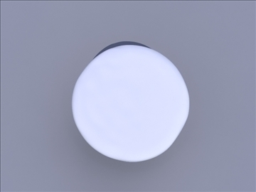circular pouf 3d model ma mb obj 82917
