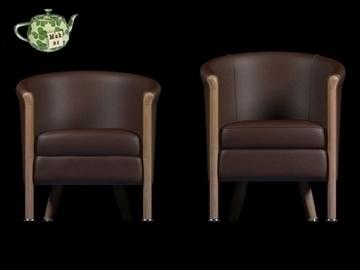 club armchair 2009 3d model 3ds max fbx obj 109874
