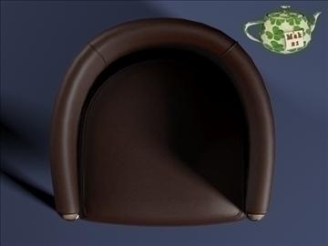 club armchair 2009 3d model 3ds max fbx obj 109875