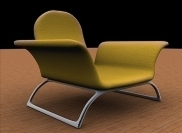 comfortable chair 3d model max 79369