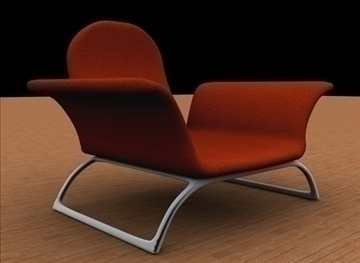 comfortable chair 3d model max 79370
