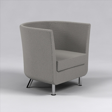 comodo chair 3d model 3ds max dxf 96232