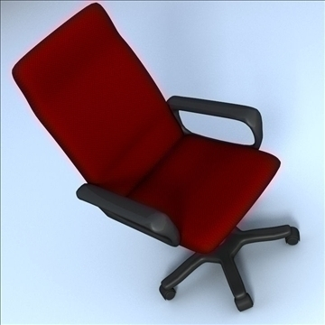 computer chair 3d model 3ds max lwo hrc xsi obj 102725