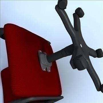 computer chair 3d model 3ds max lwo hrc xsi obj 102727