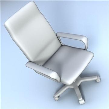 computer chair 3d model 3ds max lwo hrc xsi obj 102728