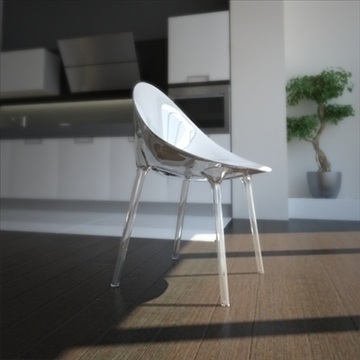 contemporary chair 3d model 3ds max dxf fbx lwo ma mb hrc xsi obj 111436