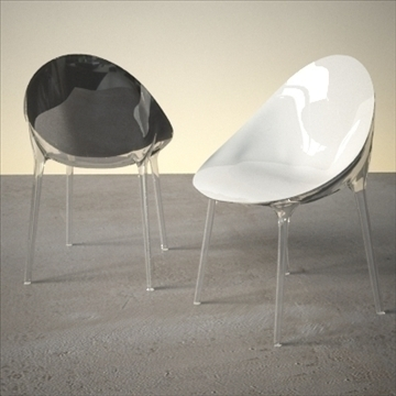 contemporary chair 3d model 3ds max dxf fbx lwo ma mb hrc xsi obj 111438