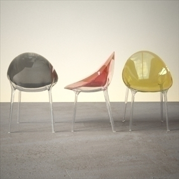 contemporary chair 3d model 3ds max dxf fbx lwo ma mb hrc xsi obj 111440