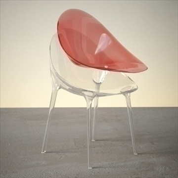 contemporary chair 3d model 3ds max dxf fbx lwo ma mb hrc xsi obj 111442